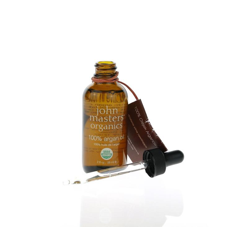 John Masters Organics, huile 100% d'argan